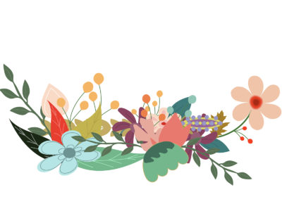 Key flowers ppt backgrounds