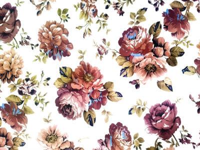 Vintage Floral Google Slides