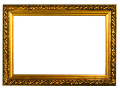 Gold Embossed Frame Backgrounds