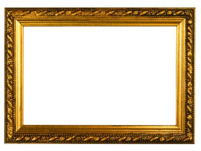 Gold Embossed Frame Backgrounds