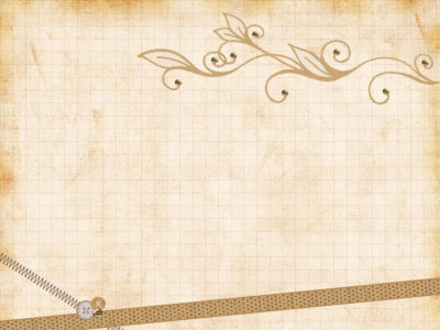 Paper Vintage Ribbons PPT Backgrounds