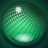 3D Green Ball Backgrounds