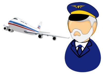 Air Pilot PPT Backgrounds