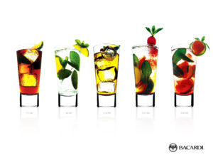 Bacardi Cocktails PPT Backgrounds
