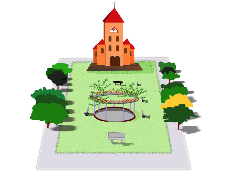 Church and Park PPT Slides