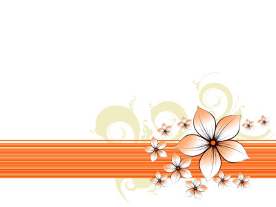 Floral Border for PPT template