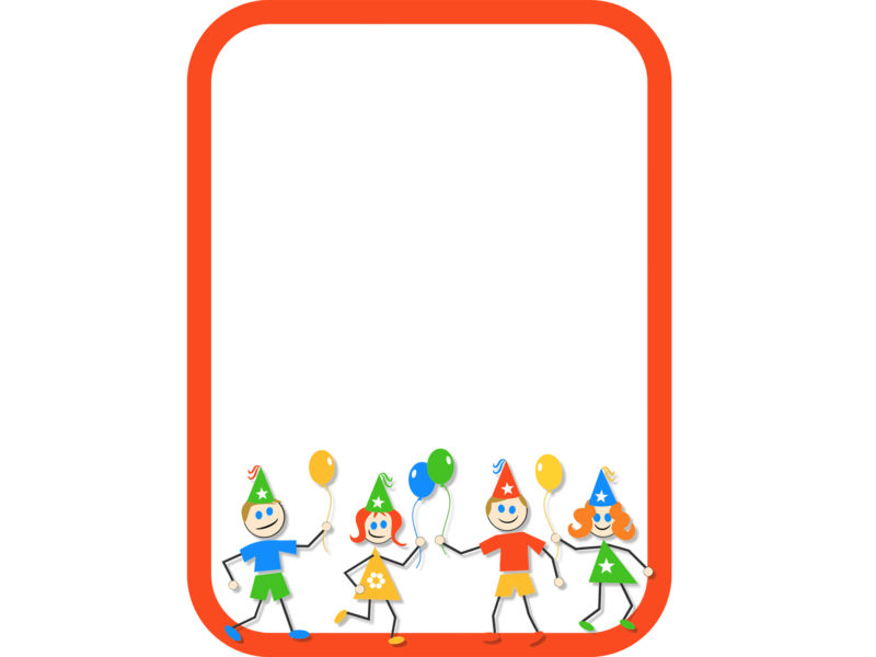 e0464ca24fb9 Kids Fun Border backgrounds. Border   Frames ...
