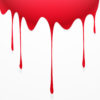 Blood Drip Powerpoint Templates