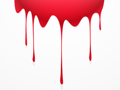 Blood Drip Powerpoint Templates