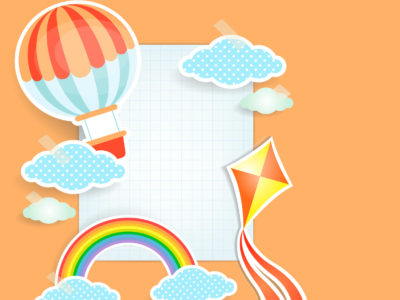 Kids Paper PPT Backgrounds