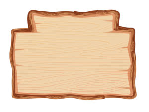 Wood Frame ppt Backgrounds