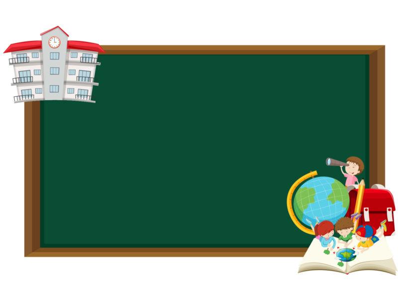 School Border Backgrounds
