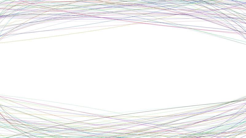 Line pattern page border