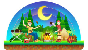 Camping PPT Backgrounds