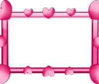 Heart Frame PPT Backgrounds