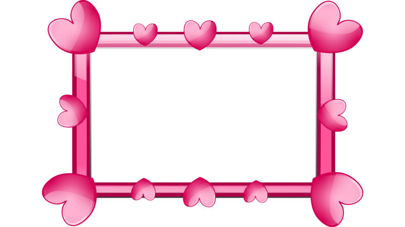 Heart Frame PPT Backgrounds